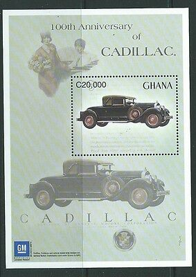 Ghana Sgms3382 2003 Cent Of General Motors Cadillac Mnh