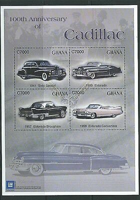 Ghana Sgms3381 2003 Cent Of General Motors Cadillac Mnh