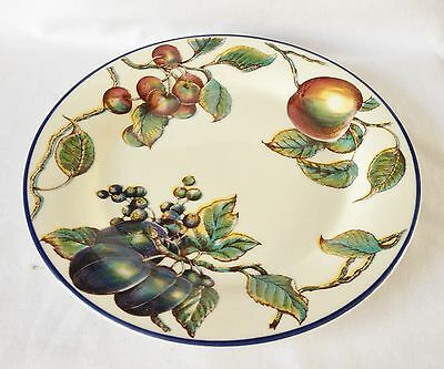 Staffordshire Autumn Fayre Dinner Plate - 10 Inch