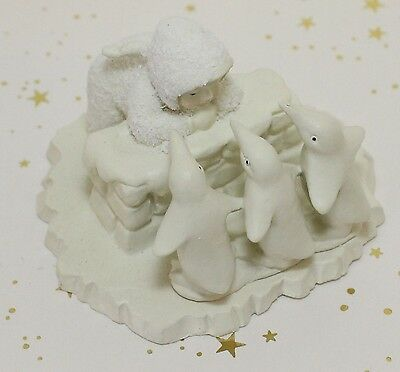 Dept 56 Snowbabies Miniatures What Shall We Do Today? Snow Babies Department 56