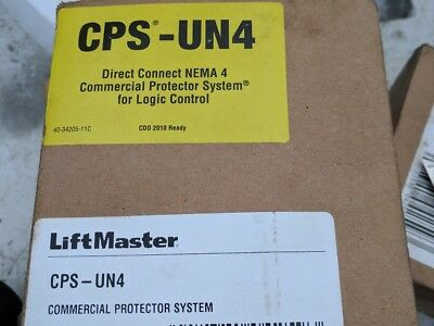 NEW LiftMaster Commercial Door Operator CPS-UN4 Protector System