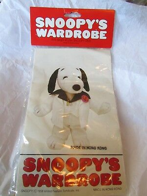 Peanuts Snoopy's Wardrobe Disco Saturday Night Fever Dance Pimp Outfit Clothes