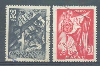 Macao 1950 Holy Year sg.425-6 used set of 2