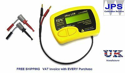 LCR40 Peak Atlas LCR Passive Component Analyser LCR 40 JPST004 VAT Invoice pm12