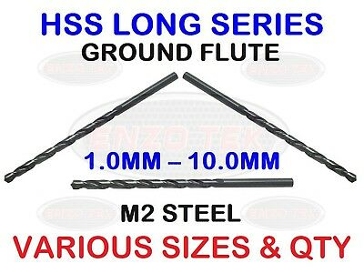 LONG SERIES HSS DRILL BITS JOINER CARPENTER TOP QUALITY FAST CUT DIN 340