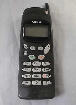 Vintage NOKIA gray Hand Mobile Phone Unknown Model