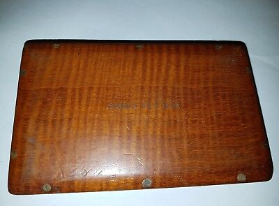 Rare Vintage Hardy Club Fly Box With Flies