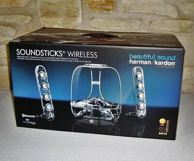 Brand New Harman Kardon Soundsticks Bluetooth Wireless 2.1 Channel Speakers