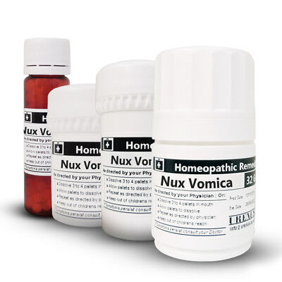 NUX VOMICA 6C 30C 200C and 1M Homeopathic Remedy Homeopathy 8 16 25 32 Gram