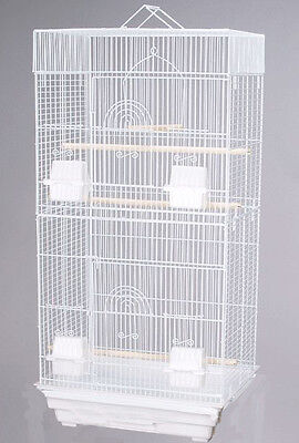 New Large Tall Canary Parakeet Cockatiel Lovebird Finch Bird Cage WTE 159