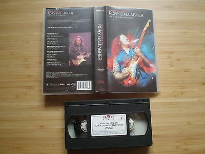 RORY GALLAGUER Live At The Cork Opera VHS-PAL E.U. 1999 MESSIN' WITH THE KID