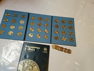Circulated 38 Coin Collection! (2000-2018 P&D) Sacagawea Native American Dollars