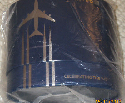 United Airlines Amenity Kit Polaris Business Class Celebrating the Boeing 747