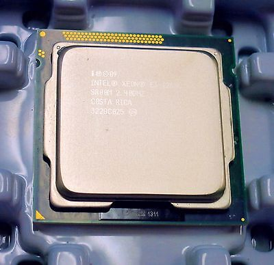 Intel Xeon E3-1260L SR00M 2.40 GHz QUAD(4)CORE CPU processor Socket LGA 1155 45W