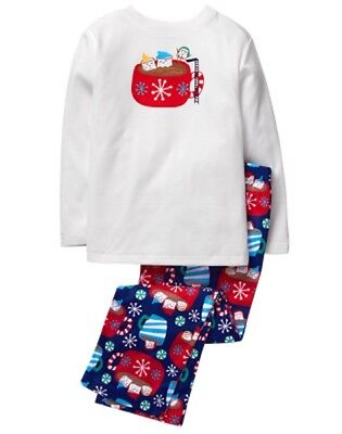 NWT Gymboree Girls  Cocoa Pajama Set Christmas Holiday 3,4,5-6,7-8,10-12,14