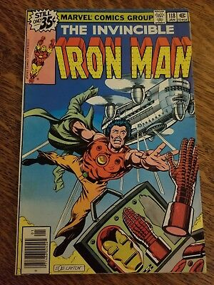Iron Man (1968) #118 - Good - First Jim Rhodes (War Machine)