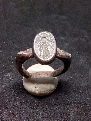 Ancient Silver Roman Ring