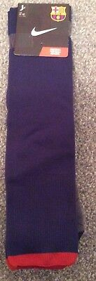 Barcelona Football Socks Size L