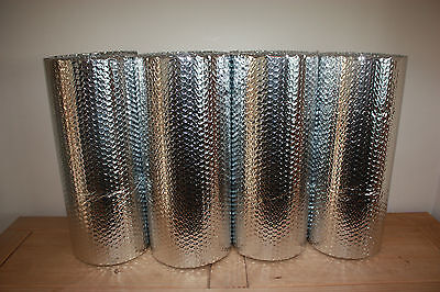 Tin Shed, stable, metal shed, double foil bubble insulation Free Postage