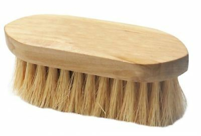 New Stiff Bristle Horse Grooming Brush with Wooden Handle