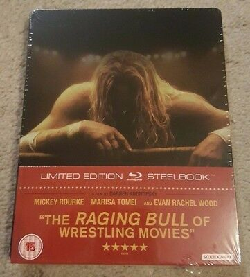 The Wrestler - Limited Edition Steelbook (Blu-ray) BRAND NEW!!