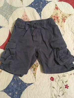 Hannah Andersson Boys Cargo Shorts Size 90