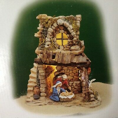Department 56 Little Town of Bethlehem NATIVITY Set of Two NIB