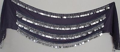 Metal Coins Belly Dance Hip Scarf