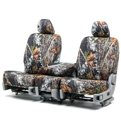 Custom Fit Seat Cover for Chevy Vega In Mossy Oak Front & Rear