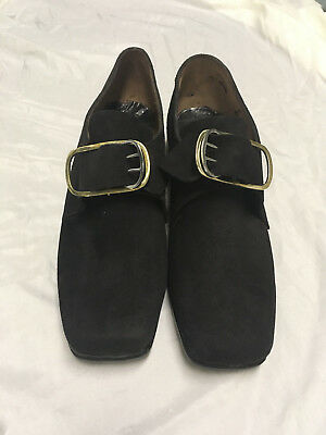 18th century military reenactment men's shoes w/ buckle Ladies 8.5 Mens 6.5