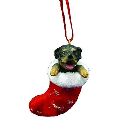 Rottweiler Santa's Little Pals Dog Christmas Ornament