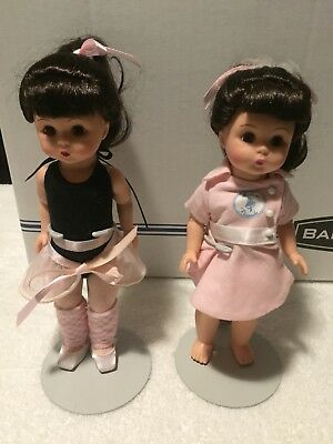 Madame Alexander Dolls lot of 2 BALLERINA and other doll.