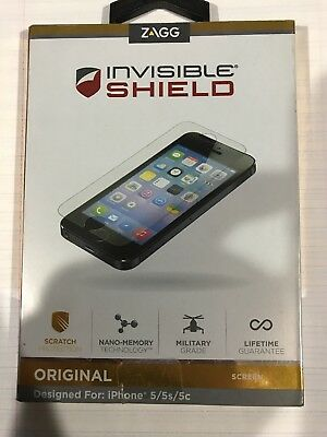 ZAGG Invisible Shield Screen Protector for Iphone 5/5s/5c - NEW!