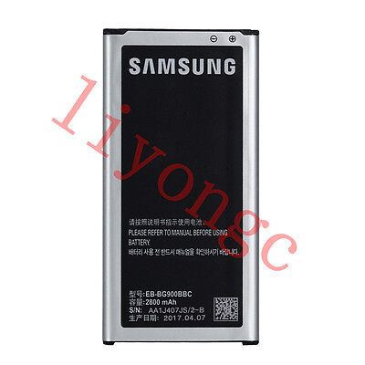 New Original EB-BG900BBE EB-BG900BBC battery for Samsung Galaxy S5 i9600 SM-900