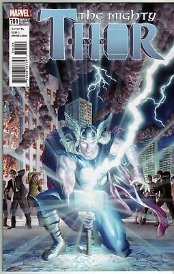 Mighty Thor #701 (Marvel Legacy) 1:50 Alex Ross Variant
