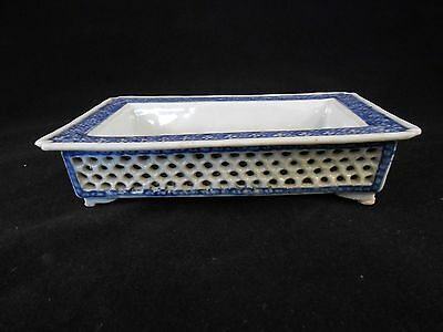 Chinese Antique Blue & White Porcelain Shuixian Pot