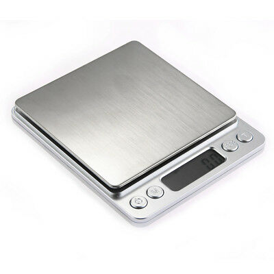 500g/0.01g Digital Medical Lab Balance Weight Scale Weigh Weighing Home Kitchen