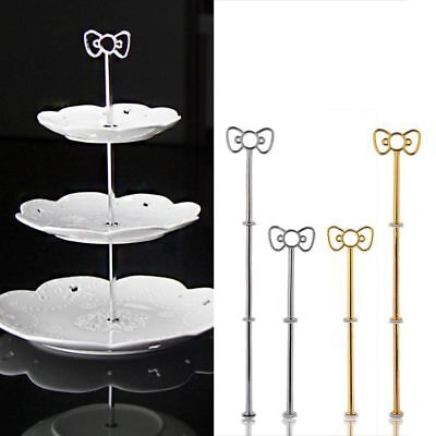 Cake Rack Display Home Birthday Celebration Two Bowknot Stand Cupcake Baking
