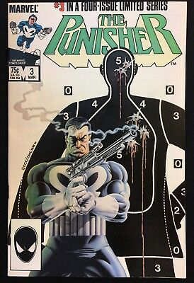 The Punisher #3 Vol 1 Limited Series (1985) Classic Mike Zeck Netflix Bernthal