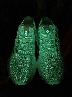 2f9ce424058aa Adidas Consortium x Sneakerboy x Wish Pureboost Glow in the Dark Size 11  Shoes