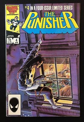 The Punisher 4 Vol 1 Limited Series (1985) Classic Mike Zeck Netflix Bernthal NM