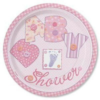 Set Of 12 Pink  Baby Shower 14X8 Size Cake Bags