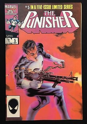 The Punisher #5 Vol 1 Limited Series (1985) Classic Mike Zeck Netflix Bernthal