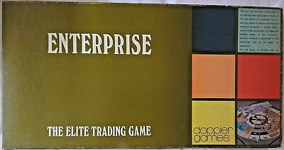 ENTERPRISE The Elite Trading Board Game 1968