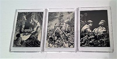 Bernie Wrightson Series One Signed Autograph Frankenstein Cards