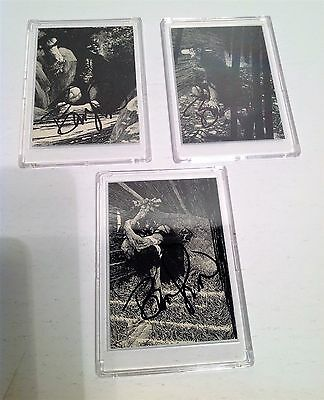 Bernie Wrightson Series One Signed Autographed Frankenstein Cards
