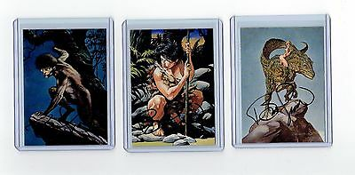 Bernie Wrightson Signed More Macabre Cards (J)