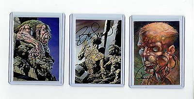 Bernie Wrightson Signed More Macabre Cards
