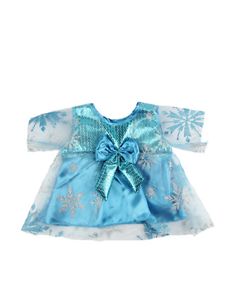 Blue Princess Dress Teddy bear clothes