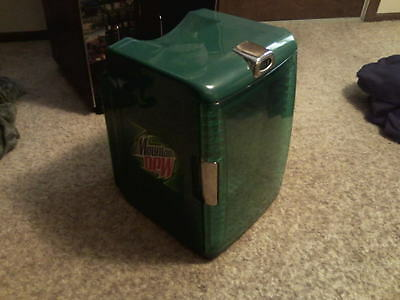 Mountain Dew Mini Fridge/Warmer Collectible Hot/Cold LIMITED EDITION